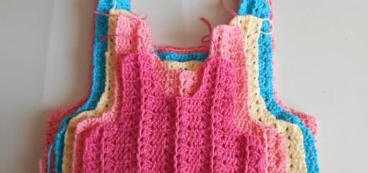 Canesú crochet bebé