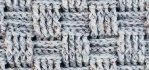 Punto crochet en relieve