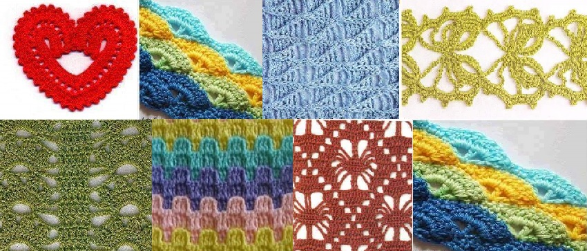 Puntos de tejido a crochet