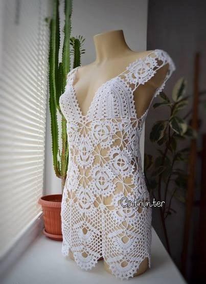 Blusas de crochet con patrón