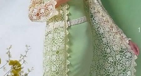Chalecos de crochet para dama