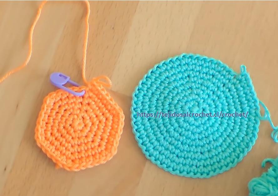 Cómo hacer un circulo perfecto al crochet