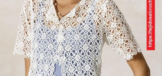 Bolero Elegante Crochet