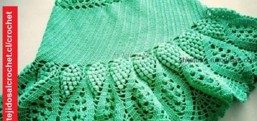 Falda Niña Crochet