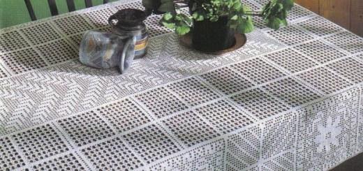 Mantel Comedor Crochet