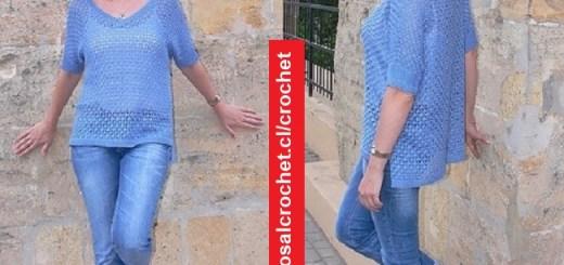 Polera Crochet para Jean