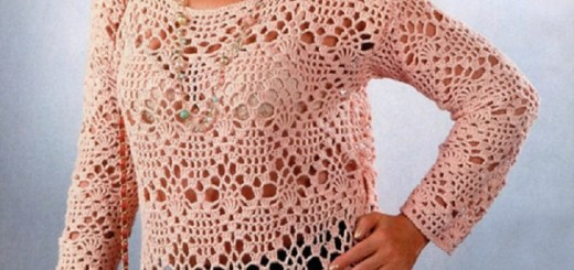 Túnica Crochet XL
