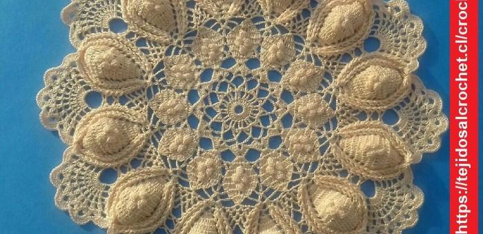 Tapete Crochet Relieve