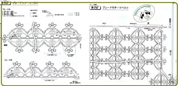 Chaleco de ganchillo patrones1