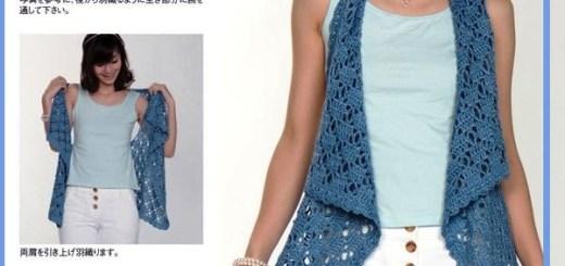 Chalecos para mujer tejidos