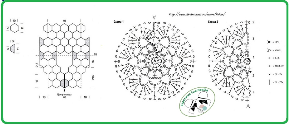 Chalecos tejidos crochet patrones1