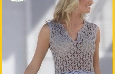 Crochet blusas patrones