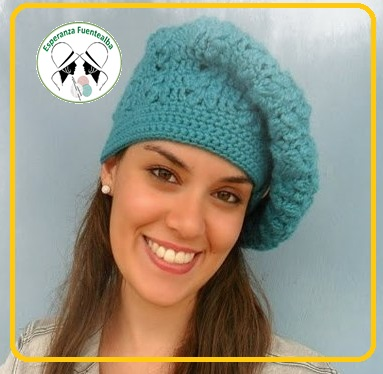 Gorros a crochet para mujer