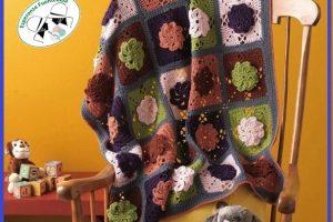 Mantas tejidas a crochet