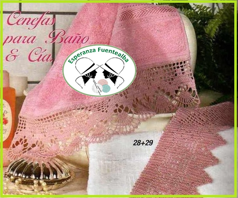 Puntillas a crochet para toallas2