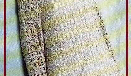 Vestidos crochet patrones gratis