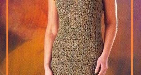 Vestidos crochet patrones