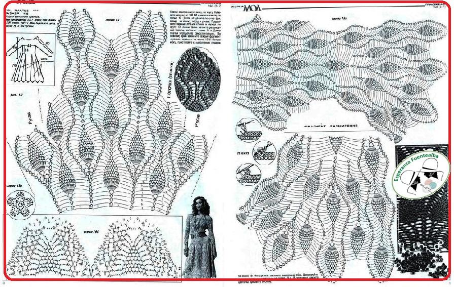 Vestidos crochet1