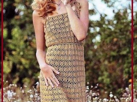 Vestidos en crochet para dama