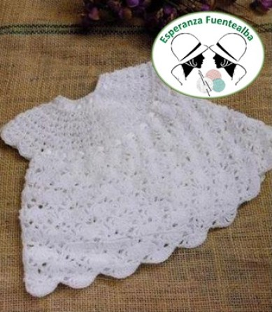 Vestidos ganchillo bebe