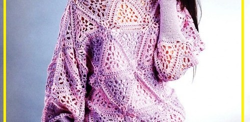 Vestidos tejidos a crochet patrones