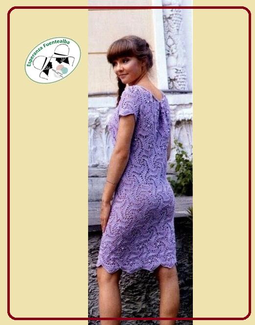 Vestidos tejidos crochet