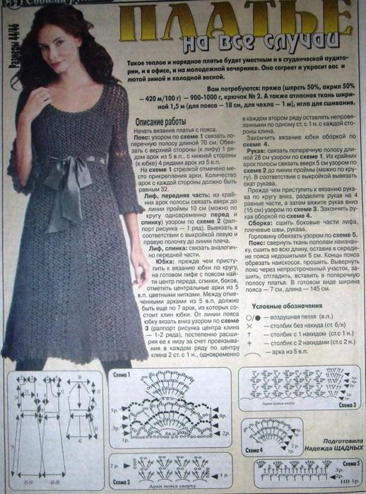 Vestidos tejidos en crochet1