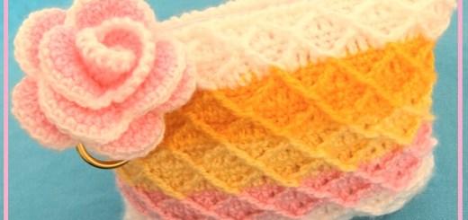Como hacer bolsas tejidas