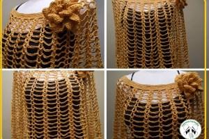 Como hacer ponchos tejidos