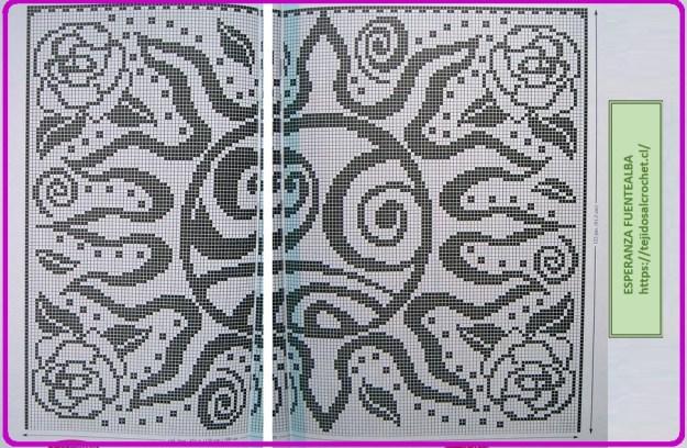 Cortinas al crochet1