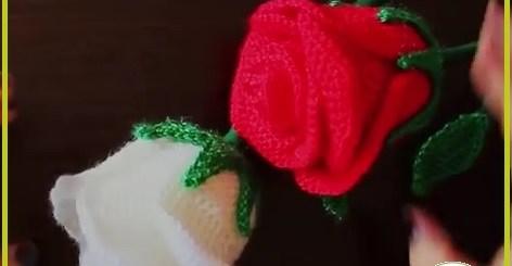 Flores de ganchillo fáciles