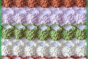 Puntos de crochet para bebe