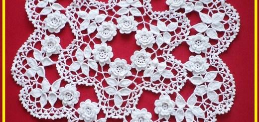 Flores en crochet patrones