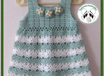 Vestidos de niña tejidos