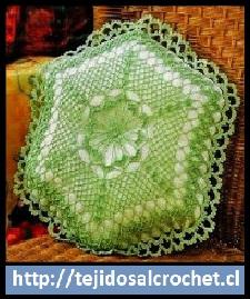 Almohadones al crochet para sillas