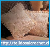 Almohadones en crochet