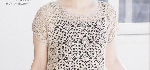 Blusas de tejido de gancho
