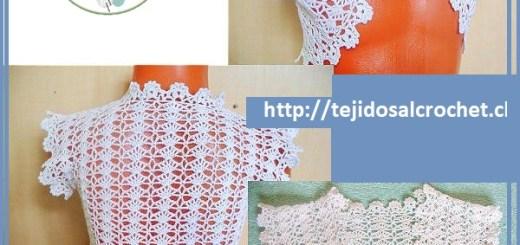 Boleros a crochet patrones