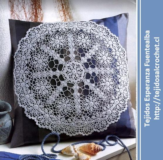 Carpetas tejidas al crochet