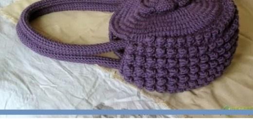 Cartera tejida crochet