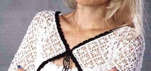 Chalecos al crochet moldes