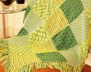 Colchas crochet patrones