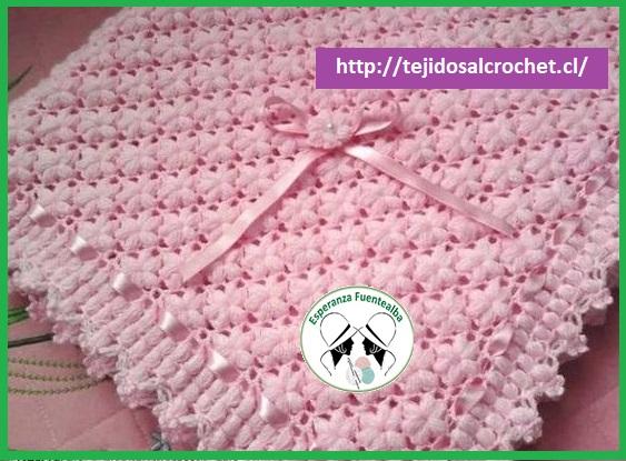 Colchas tejidas a gancho patrones1