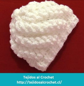 Como hacer gorros en crochet