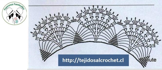 Cuellos tejidos a crochet 4