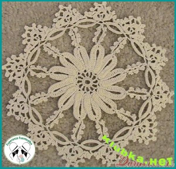 Motivos tejidos a crochet