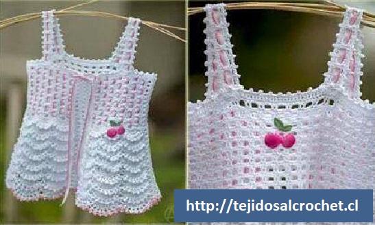 Remera niña crochet