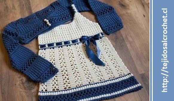 Vestidos tejidos para bebe