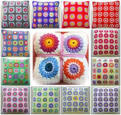 Cojines a crochet patrones2