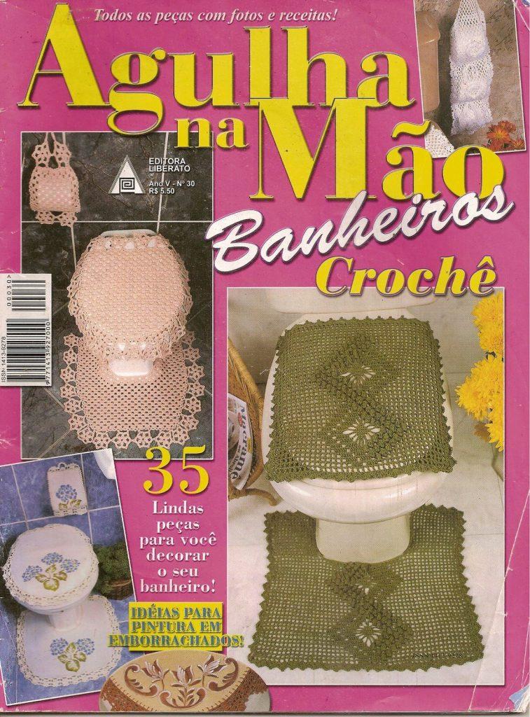 Revista crochet juego de baño